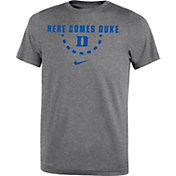 Nike Youth Duke Blue Devils Grey Mantra Basketball T-Shirt