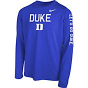 Nike Youth Duke Blue Duke Blue Legend Core Long Sleeve Shirt