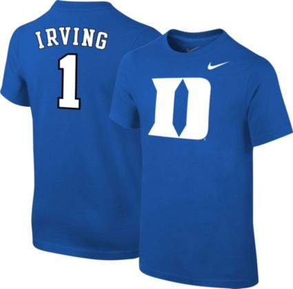 f3f06f296 Nike Youth Duke Blue Devils Kyrie Irving  1 Duke Blue Future Star Replica  Basketball Jersey T-Shirt. noImageFound. 1   1