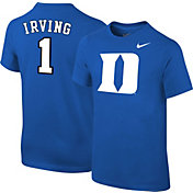 49e196b852a Product Image · Nike Youth Duke Blue Devils Kyrie Irving  1 Duke Blue  Future Star Replica Basketball Jersey