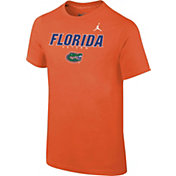 Jordan Youth Florida Gators Orange Football Dri-FIT Facility T-Shirt