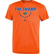 Jordan Youth Florida Gators Orange Mantra Basketball T-Shirt