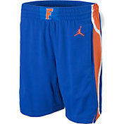 Jordan Youth Florida Gators Blue Replica Basketball Shorts