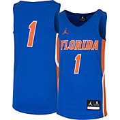 Jordan Youth Florida Gators #1 Blue Replica Basketball Jersey