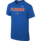 Jordan Youth Florida Gators Blue Football Facility T-Shirt