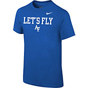 Nike Youth Air Force Falcons Blue Mantra T-Shirt