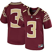 Nike Youth Florida State Seminoles #3 Garnet Game Football Jersey