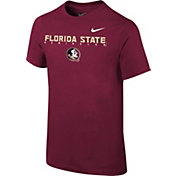 Nike Youth Florida State Seminoles Garnet Football Facility T-Shirt