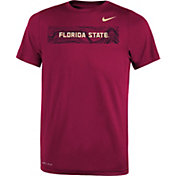 Nike Youth Florida State Seminoles Garnet Football Sideline Legend T-Shirt