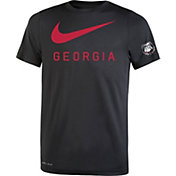 Nike Youth Georgia Bulldogs DNA Legend Black T-Shirt