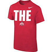 Nike Youth Ohio State Buckeyes Scarlet Local T-Shirt