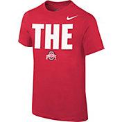 Nike Youth Ohio State Buckeyes Scarlet Local T-Shirt