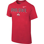 Nike Youth Ohio State Buckeyes Scarlet Football Facility T-Shirt