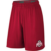 Nike Youth Ohio State Buckeyes Scarlet Fly 2.0 Shorts