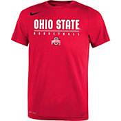 Nike Youth Ohio State Buckeyes Scarlet Legend Basketball T-Shirt