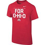 Nike Youth Ohio State Buckeyes Scarlet Student Body T-Shirt