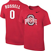 Nike Youth Ohio State Buckeyes D'Angelo Russell #0 Scarlet Future Star Replica Basketball Jersey T-Shirt