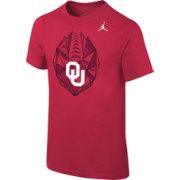 Jordan Youth Oklahoma Sooners Crimson Football Icon T-Shirt