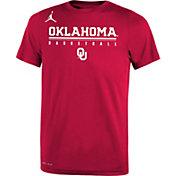 Jordan Youth Oklahoma Sooners Crimson Legend Basketball T-Shirt