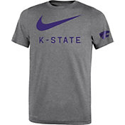 Nike Youth Kansas State Wildcats Grey DNA Legend T-Shirt