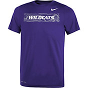 Nike Youth Kansas State Wildcats Purple Football Sideline Legend T-Shirt