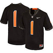 Nike Youth Oklahoma State Cowboys #1 Game Football Black Jersey
