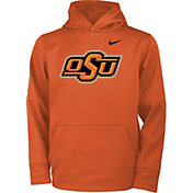 Nike Youth Oklahoma State Cowboys Orange Therma Logo Hoodie