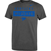Nike Youth Kentucky Wildcats Grey Dri-FIT Legend Lift Football T-Shirt