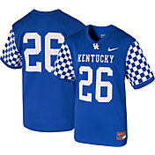 Nike Youth Kentucky Wildcats #26 Blue Game Football Jersey