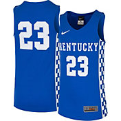 Nike Youth Kentucky Wildcats #23 Blue Replica ELITE Basketball Jersey
