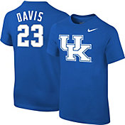 Nike Youth Kentucky Wildcats Anthony Davis #23 Blue Future Star Replica Basketball Jersey T-Shirt