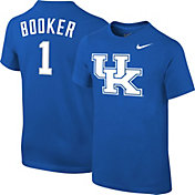 Nike Youth Kentucky Wildcats Devin Booker #1 Blue Future Star Replica Basketball Jersey T-Shirt