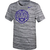 Nike Youth LSU Tigers Velocity Heather Football Dri-FIT Travel Legend T-Shirt