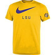 Nike Youth LSU Tigers Gold DNA Legend T-Shirt