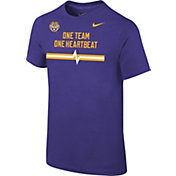 Nike Youth LSU Tigers Purple Mantra T-Shirt