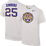Nike Youth LSU Tigers Ben Simmons #25 Future Star Replica Basketball Jersey White T-Shirt
