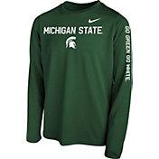 Nike Youth Green Green Legend Core Long Sleeve Shirt