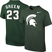 Nike Youth Michigan State Spartans Draymond Green #23 Green Future Star Replica Basketball Jersey T-Shirt