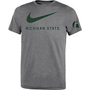 Nike Youth Michigan State Spartans Grey DNA Legend T-Shirt
