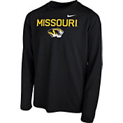 Nike Youth Missouri Tigers Legend Core Black Long Sleeve Shirt