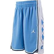 Jordan Youth North Carolina Tar Heels Carolina Blue Replica Basketball Shorts