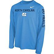 Nike Youth Carolina Blue Carolina Blue Legend Core Long Sleeve Shirt