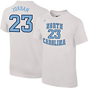 Jordan Youth North Carolina Tar Heels Michael Jordan #23 Future Star Replica Basketball Jersey White T-Shirt