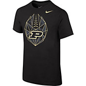 Nike Youth Purdue Boilermakers Black Football Icon T-Shirt