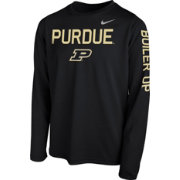 Nike Youth Purdue Boilermakers Legend Core Black Long Sleeve Shirt