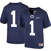 Nike Boys' Penn State Nittany Lions #1 Blue Game Football Jersey