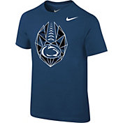 Nike Boys' Penn State Nittany Lions Blue Football Icon T-Shirt