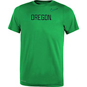 Nike Youth Oregon Ducks Green Football Sideline Legend T-Shirt