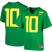 Nike Boys' Oregon Ducks #10 Green Game Football Jersey
