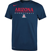 dd46299d1cd9 Product Image · Nike Youth Arizona Wildcats Navy Legend Basketball T-Shirt
